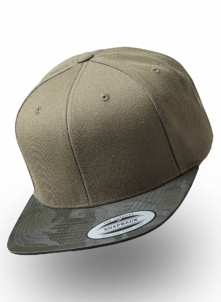 Flexfit by Yupoong Snapback Camo Olive