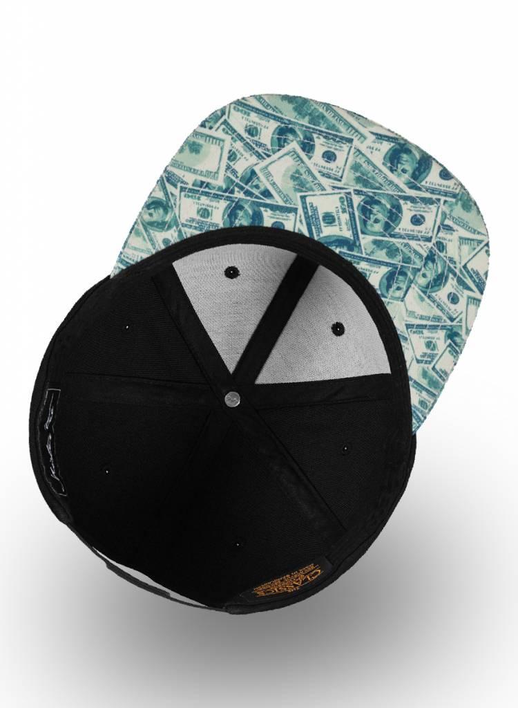 Mister Tee Flexfit Snapback Black US Dollars