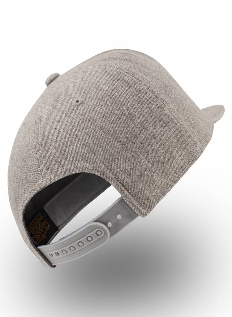 Flexfit by Yupoong Flexfit Snapback Heather Grey