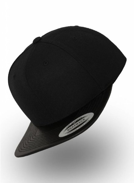 Flexfit by Yupoong Flexfit Snapback Black Leather