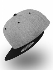 Flexfit by Yupoong Snapback 2-Tone Heather Black