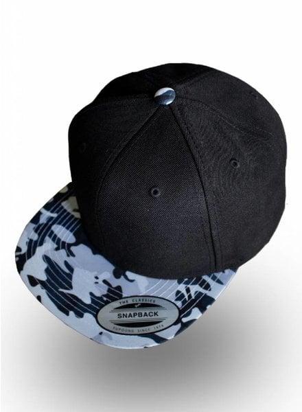 Flexfit by Yupoong Snapback Black Camo Grey