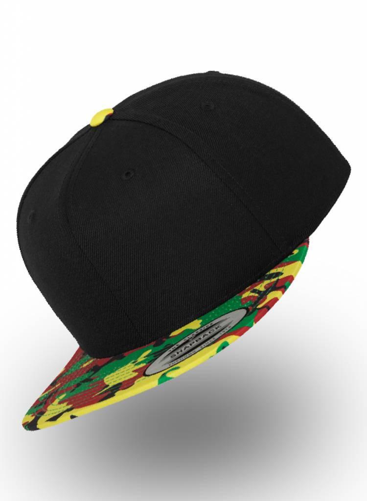 Flexfit by Yupoong Snapback Black-Cobra - Copy - Copy
