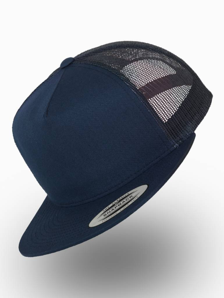 Flexfit by Yupoong Flexfit Truckers Cap Navy