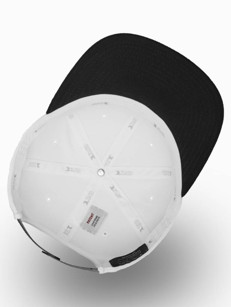 Flexfit by Yupoong Flexfit Snapback 110F White/Black