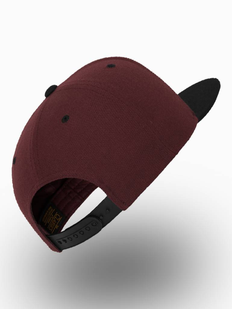 Flexfit by Yupoong Flexfit Snapback Maroon/ Black