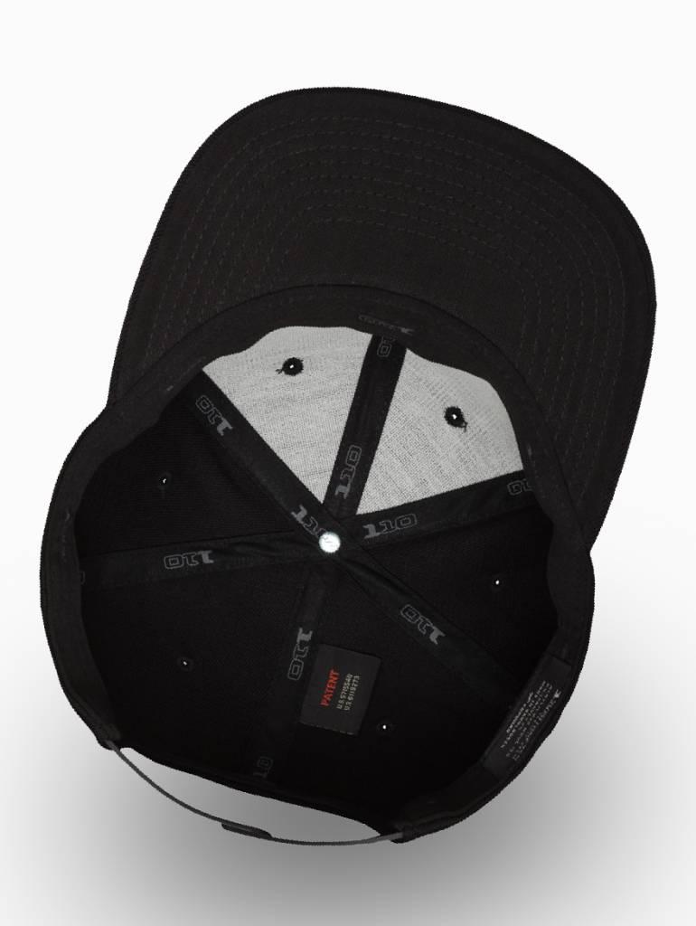 Flexfit by Yupoong Flexfit Snapback 110F Black