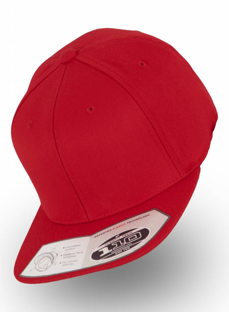 Flexfit by Yupoong Flexfit Snapback 110F Red