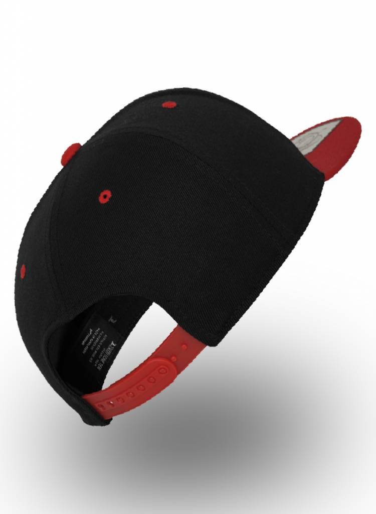 Flexfit by Yupoong Flexfit 110F Snapback Schwarz/Rot