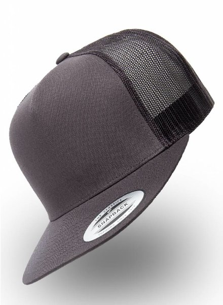Flexfit by Yupoong Flexfit Truckers Cap Charcoal