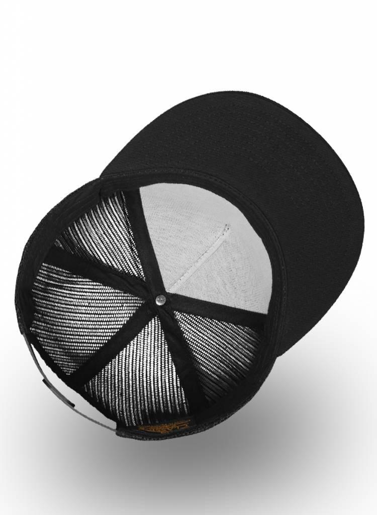 Flexfit by Yupoong Flexfit Truckers Cap Full Black