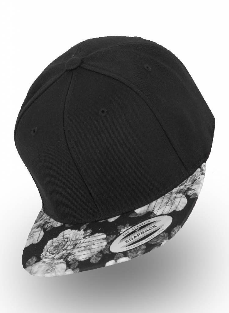 Flexfit by Yupoong Flexfit Black Rose Snapback