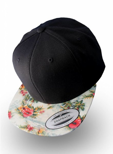 Flexfit by Yupoong Flexfit Black Floral Mint
