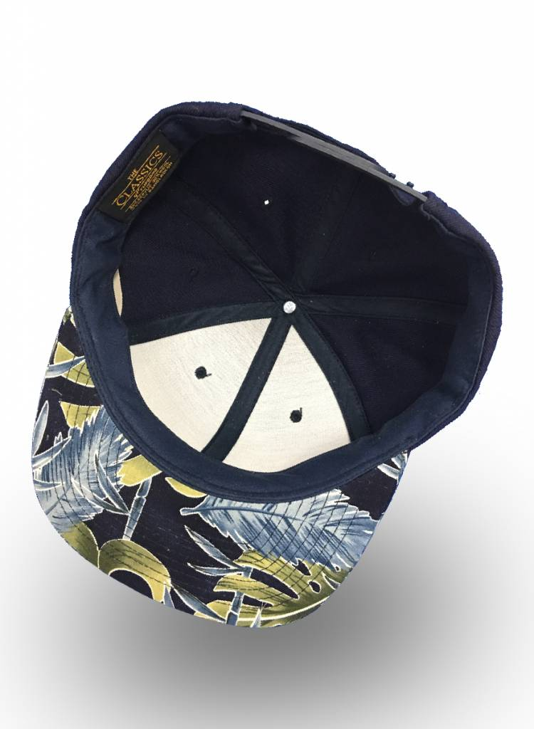 Flexfit by Yupoong Snapback Navy Flowers