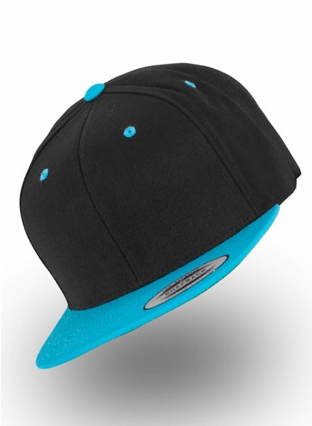 Flexfit by Yupoong Snapback Black-Teal