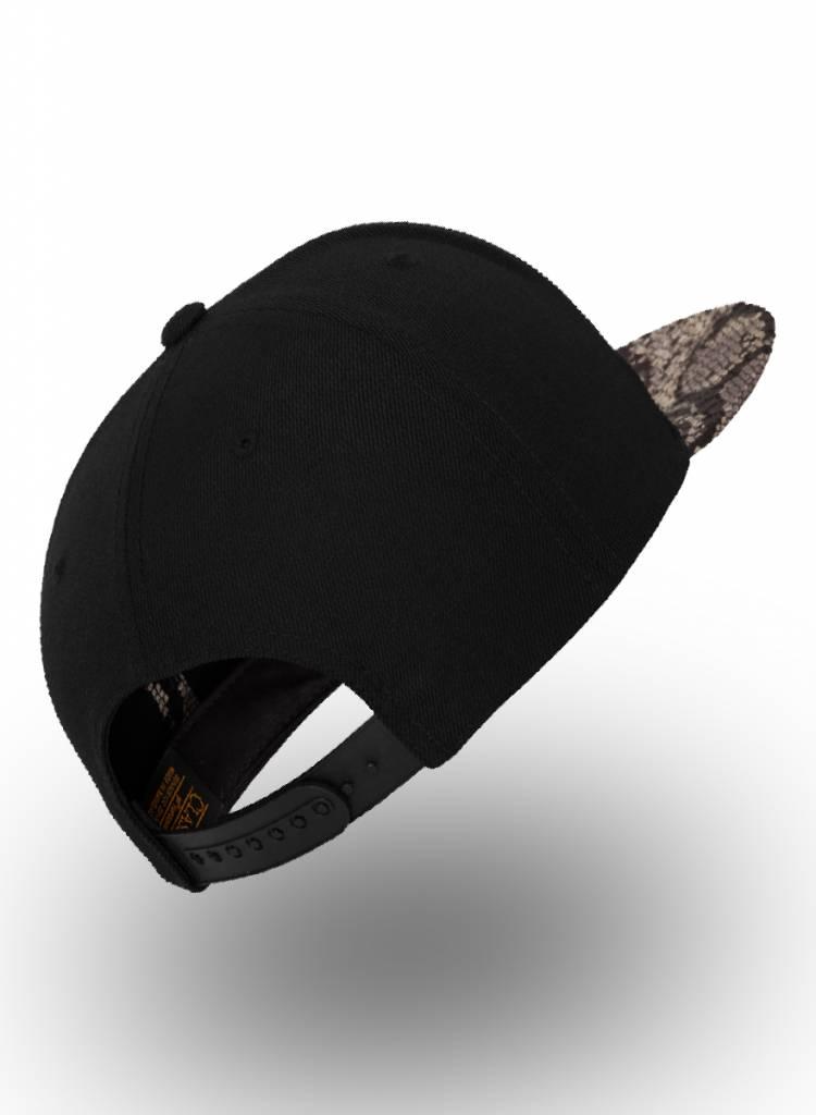Flexfit by Yupoong Flexfit Snapback Black Cobra