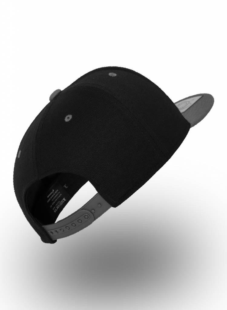 Flexfit by Yupoong Flexfit 110F Snapback Schwarz-Grau