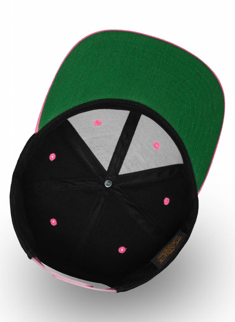 Flexfit by Yupoong Flexfit Snapback 2-tone Neon Pink