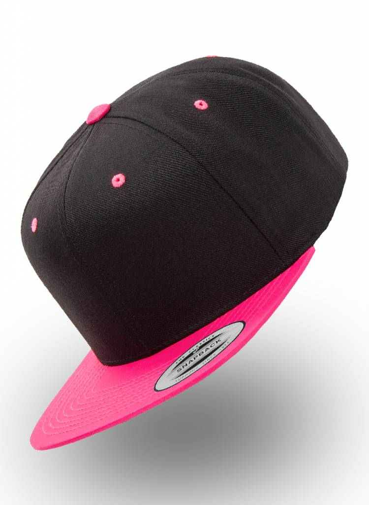 Flexfit by Yupoong Flexfit Snapback 2-tone Bright Pink / Fuchsia