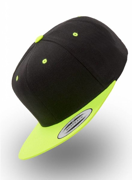 Flexfit by Yupoong Snapback Back Neon-Yellow