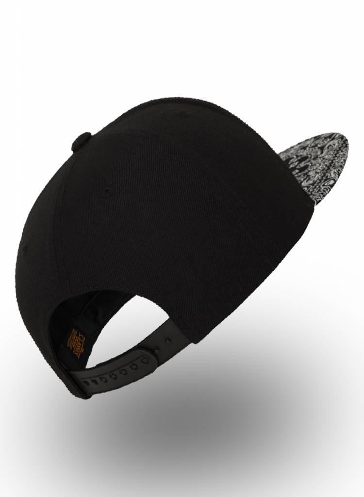 Flexfit by Yupoong Flexfit Snapback Black Bandana Black