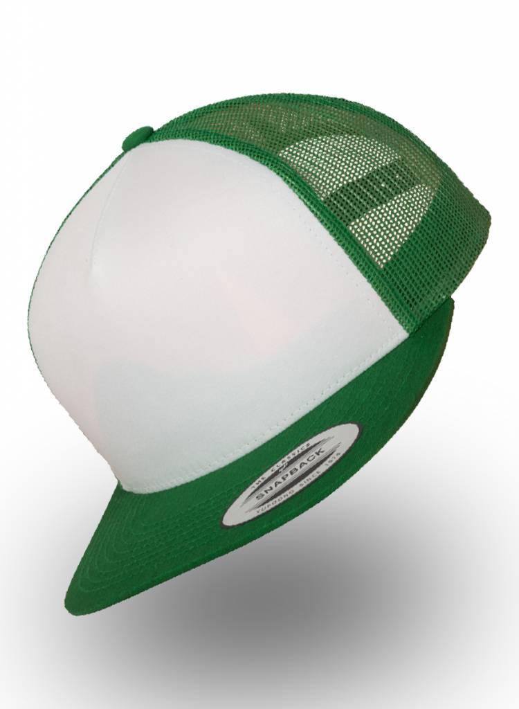 Flexfit by Yupoong Truckers Cap Green