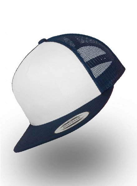 Flexfit by Yupoong Truckers Cap White Navy