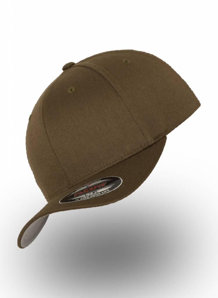 Flexfit by Yupoong Baseball cap met een dichte achterzijde