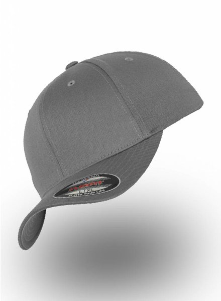 Flexfit by Yupoong Baseball Cap Fitted Grey