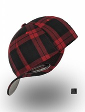 Flexfit by Yupoong Flexfit Tartan, Gray