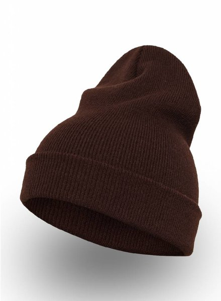 Flexfit by Yupoong Custom Beanie Brown