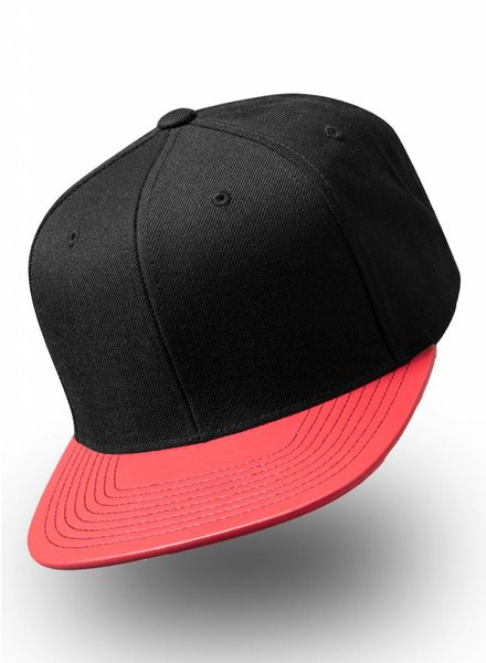 Flexfit by Yupoong Snapback Metallic Visor Red
