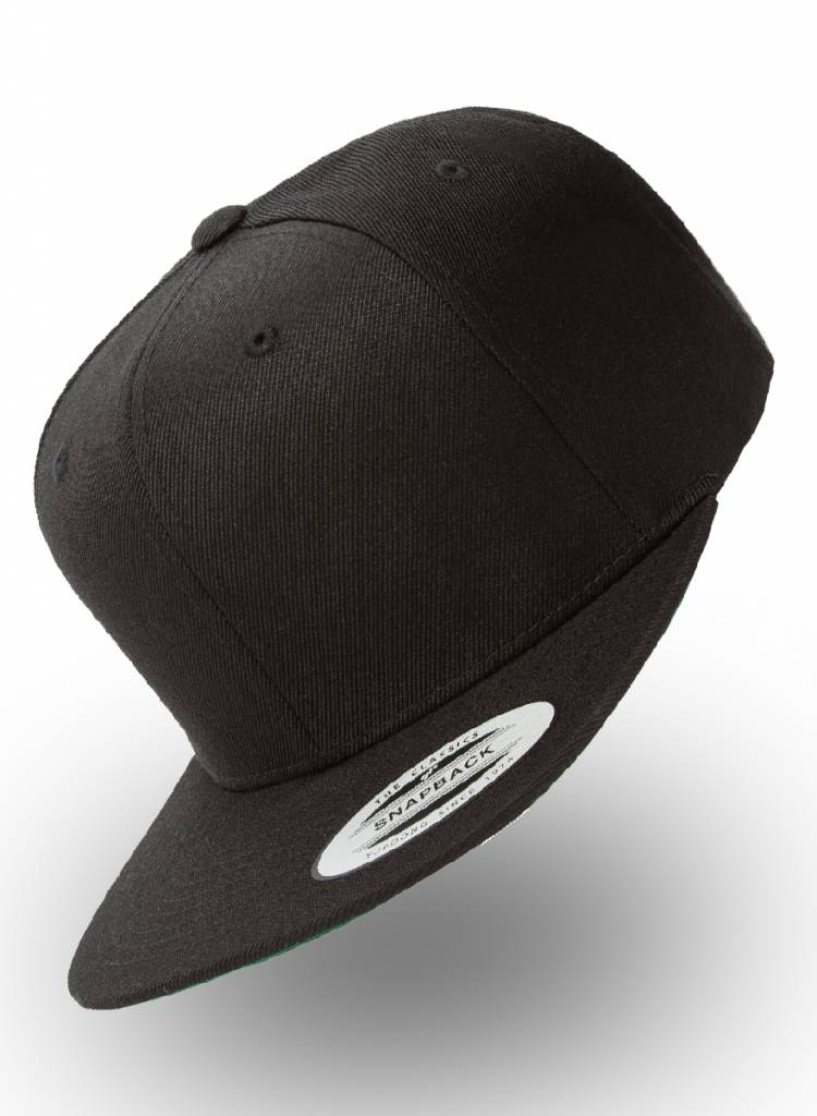 Flexfit by Yupoong Kinderpet Snapback Zwart (6-14)