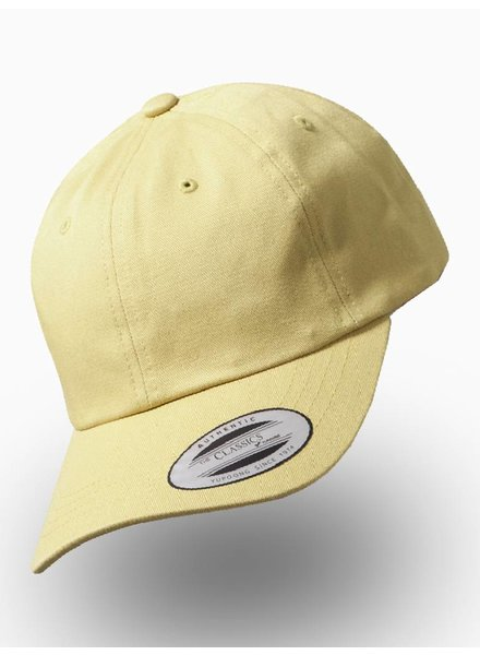 Flexfit by Yupoong Dad Cap met strap Curry