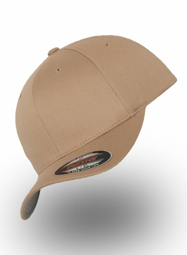 Flexfit by Yupoong Baseball Cap Fitted Khaki