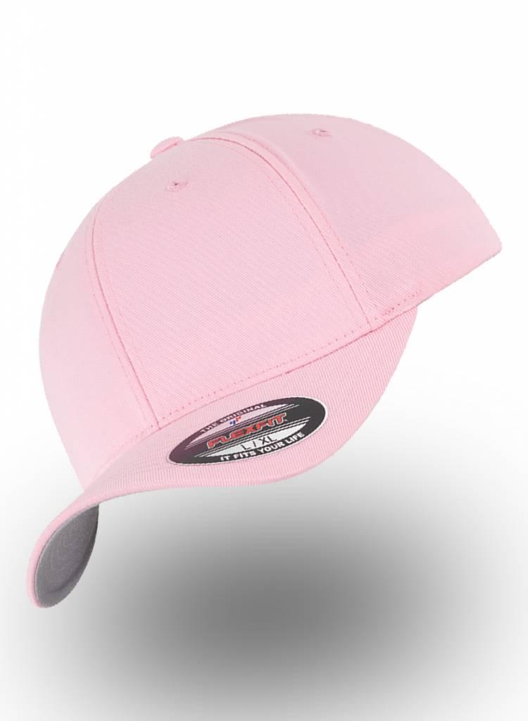 Flexfit by Yupoong Baseball cap met een dichte achterzijde Pink