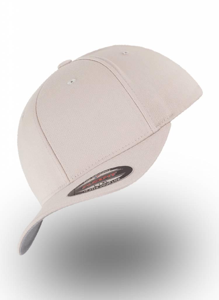 Flexfit by Yupoong Baseball cap met een dichte achterzijde Stone