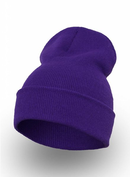 Flexfit by Yupoong Custom Beanie Purple