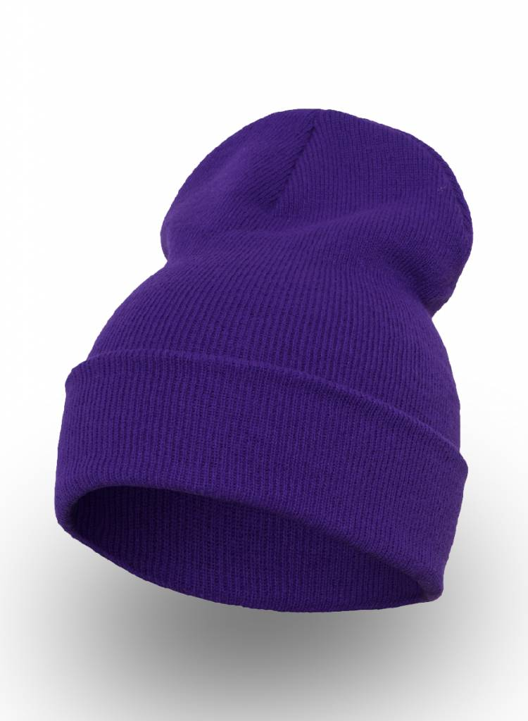 Flexfit by Yupoong Custom Beanie Purple