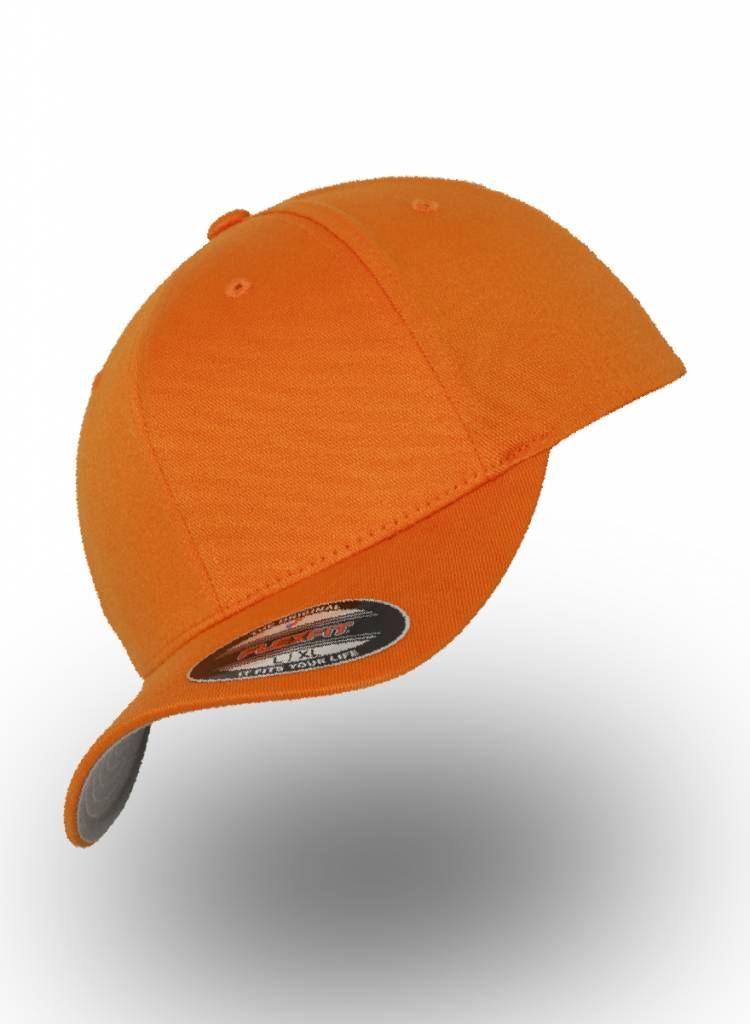 Flexfit by Yupoong Baseball Cap Fitted  Orange
