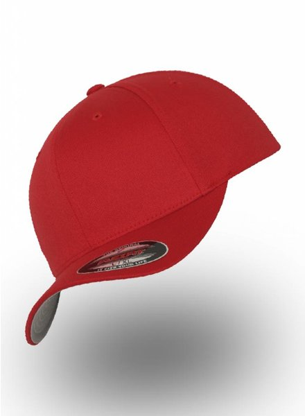 Flexfit by Yupoong Baseball Cap Fitted  Red