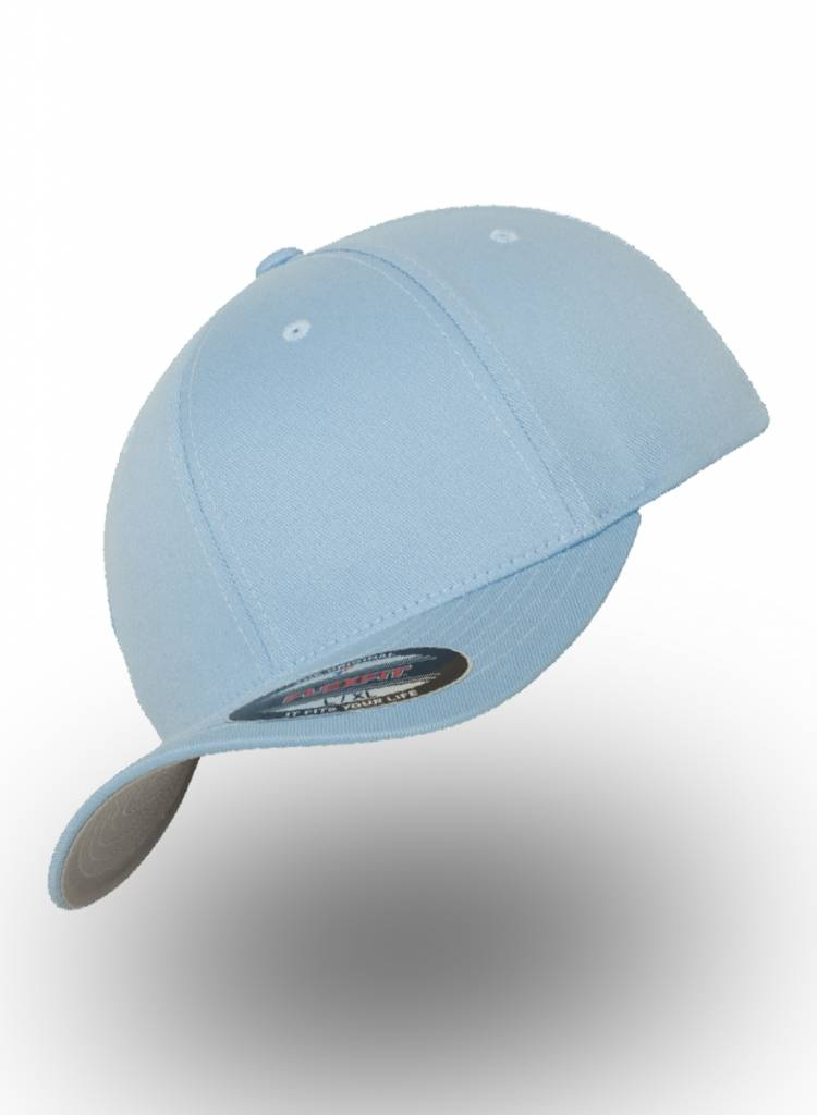 Flexfit by Yupoong Baseball Cap Fitted  Carolina Blue
