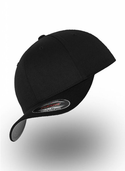 Flexfit by Yupoong Baseball Cap Fitted Black