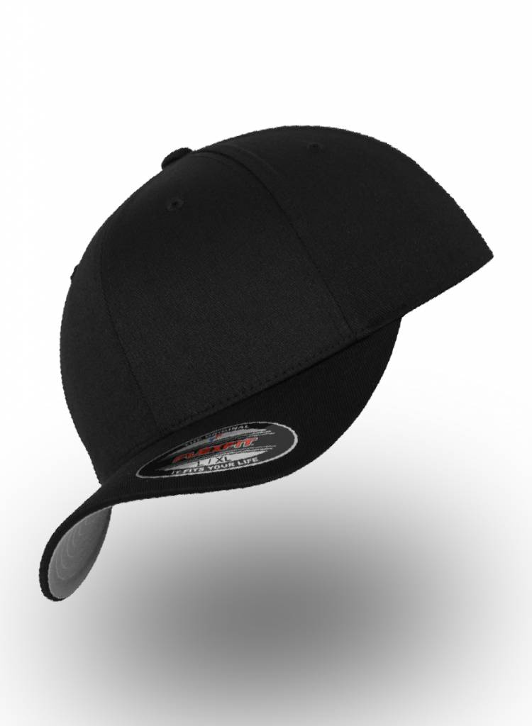 Flexfit by Yupoong Flexfit Baseball Cap Fitted Black