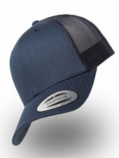 Flexfit by Yupoong Retro Truckers Cap Navy