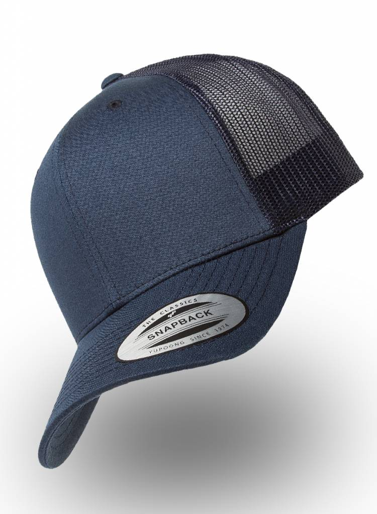Flexfit by Yupoong Flexfit Retro Truckers Cap Navy