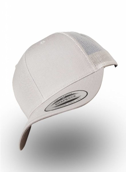 Flexfit by Yupoong Retro Truckers Cap Silver