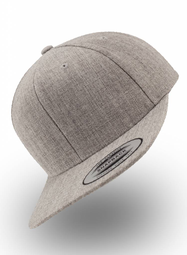 Flexfit by Yupoong Flexfit Snapback Heather Grey (full)