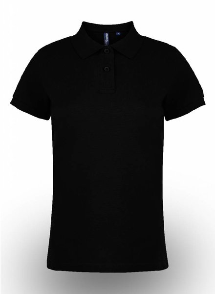Asquith & Fox Polo Shirt Zwart