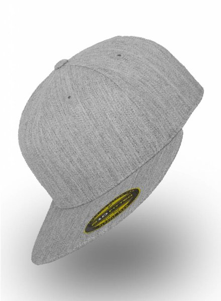 Flexfit by Yupoong Fitted Cap Heather Grey